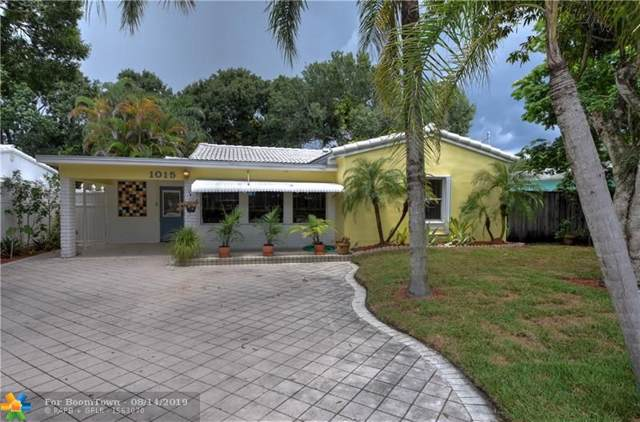 1015 SW 20TH ST, Fort Lauderdale, FL 33315 (MLS #F10189548) :: The O'Flaherty Team