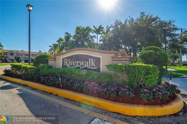 258 Riverwalk Cir #258, Sunrise, FL 33326 (MLS #F10189623) :: Berkshire Hathaway HomeServices EWM Realty