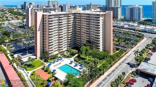 3333 NE 34th St #1106, Fort Lauderdale, FL 33308 (MLS #F10189671) :: Berkshire Hathaway HomeServices EWM Realty