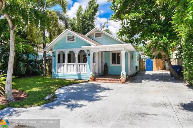1315 NE 5th Ter, Fort Lauderdale, FL 33304 (MLS #F10189852) :: Berkshire Hathaway HomeServices EWM Realty