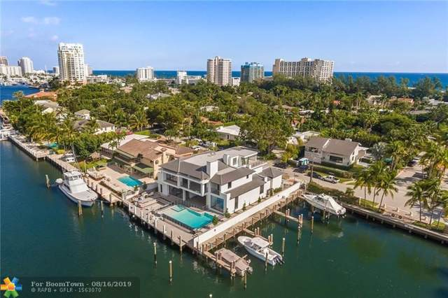 1425 E Lake Dr, Fort Lauderdale, FL 33316 (MLS #F10189864) :: The Howland Group
