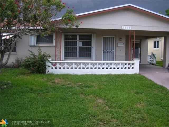 5309 NW 49th Ter, Tamarac, FL 33319 (MLS #F10190133) :: ONE Sotheby's International Realty