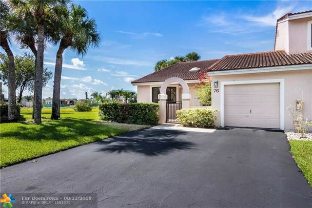 16624 Greens Edge Cir #76, Weston, FL 33326 (MLS #F10190816) :: Berkshire Hathaway HomeServices EWM Realty