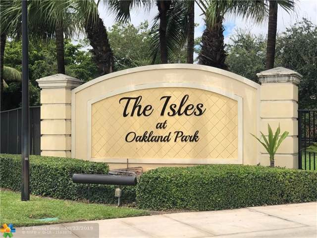 3164 NW 32nd Ct #3164, Oakland Park, FL 33309 (MLS #F10191006) :: Castelli Real Estate Services