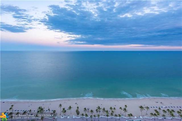 101 S Fort Lauderdale Beach Blvd #1705, Fort Lauderdale, FL 33316 (MLS #F10191445) :: Patty Accorto Team