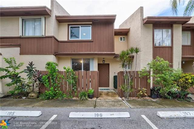 1321 Hampton Blvd #1321, North Lauderdale, FL 33068 (#F10191781) :: Weichert, Realtors® - True Quality Service