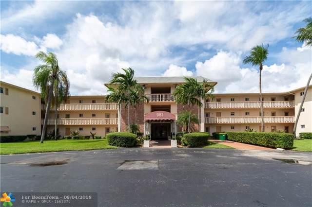 981 Hillcrest Ct #303, Hollywood, FL 33021 (MLS #F10192028) :: Patty Accorto Team