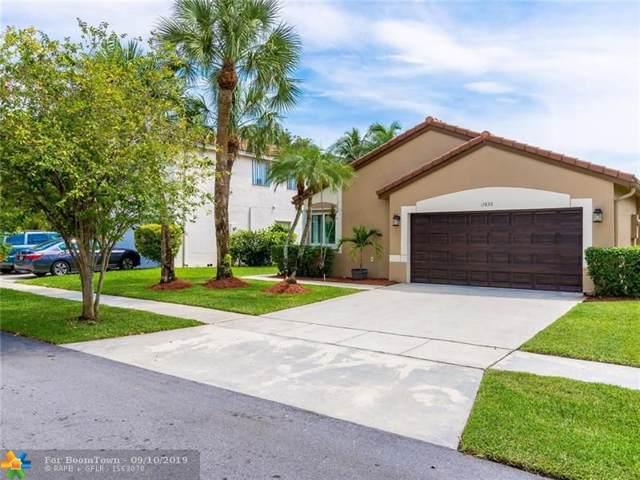 17830 NW 19th St, Pembroke Pines, FL 33029 (MLS #F10192232) :: Castelli Real Estate Services