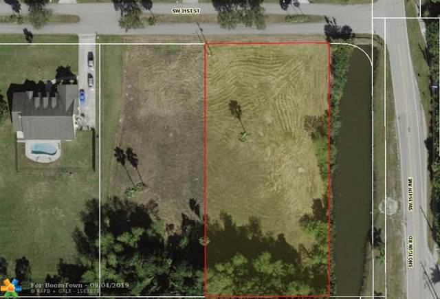 NA SW 31st St, Davie, FL 33331 (MLS #F10192249) :: Castelli Real Estate Services