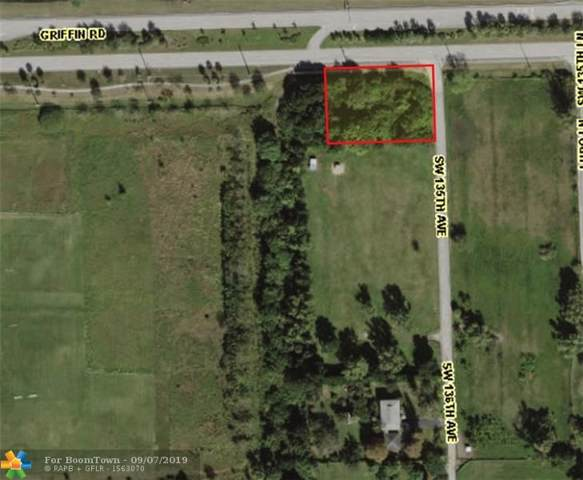 0 SW 135th Ave, Southwest Ranches, FL 33330 (#F10192717) :: Real Estate Authority