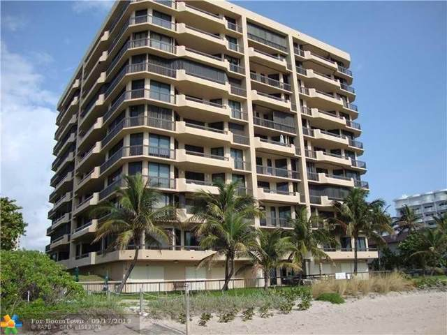1300 S Ocean Blvd #404, Pompano Beach, FL 33062 (MLS #F10192812) :: The O'Flaherty Team