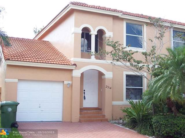 2314 NW 161st Ave #2314, Pembroke Pines, FL 33028 (MLS #F10192948) :: Castelli Real Estate Services