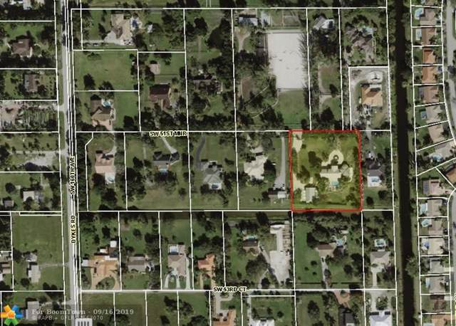 15720 SW 51ST MNR, Southwest Ranches, FL 33331 (MLS #F10193248) :: Castelli Real Estate Services