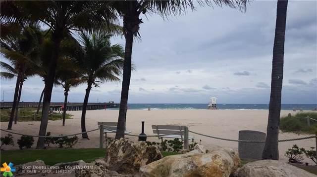 1009 N Ocean Blvd #601, Pompano Beach, FL 33062 (MLS #F10194173) :: Green Realty Properties