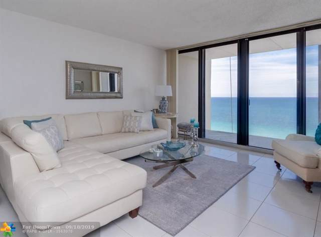 2101 S Ocean Dr #1902, Hollywood, FL 33019 (MLS #F10194191) :: Patty Accorto Team