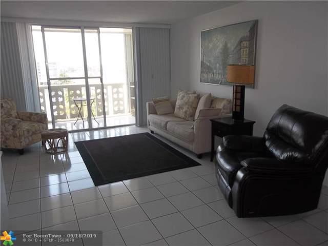 1893 S Ocean Dr #707, Hallandale, FL 33009 (MLS #F10194305) :: Castelli Real Estate Services