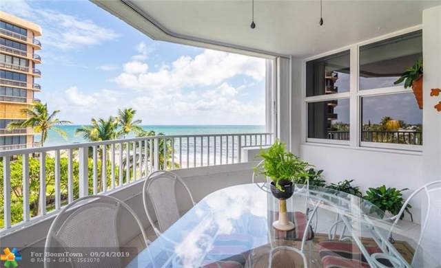 1340 S Ocean Blvd #503, Pompano Beach, FL 33062 (#F10194324) :: The Rizzuto Woodman Team