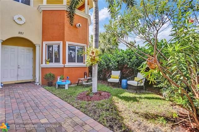 921 NE 17th Way #921, Fort Lauderdale, FL 33304 (MLS #F10195775) :: Castelli Real Estate Services