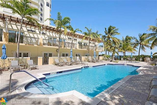 2001 N Ocean Blvd #301, Fort Lauderdale, FL 33305 (MLS #F10196218) :: Patty Accorto Team