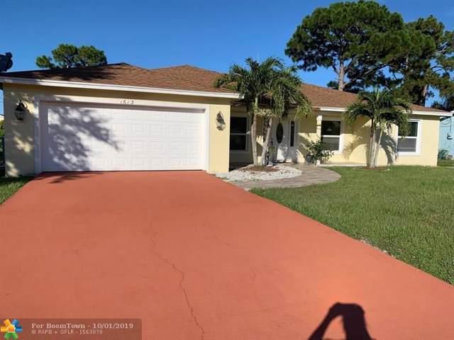 1613 SE Trumpet Ln, Port Saint Lucie, FL 34983 (MLS #F10197211) :: Berkshire Hathaway HomeServices EWM Realty