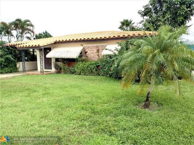 4570 NE 2nd Ter, Oakland Park, FL 33334 (MLS #F10197864) :: Green Realty Properties