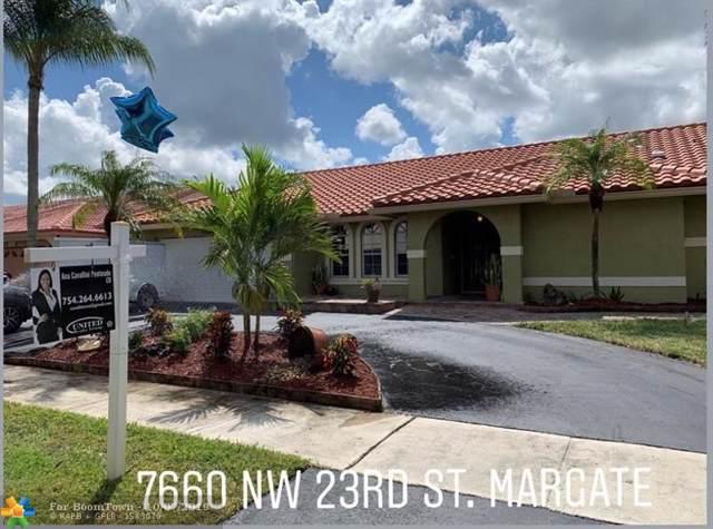 7660 NW 23rd St, Margate, FL 33063 (#F10197946) :: Weichert, Realtors® - True Quality Service