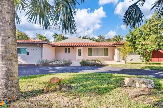 2747 NE 20th St, Fort Lauderdale, FL 33305 (MLS #F10197983) :: The O'Flaherty Team