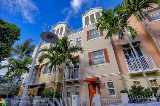 502 NE 7th Ave #2, Fort Lauderdale, FL 33301 (MLS #F10198185) :: The Howland Group