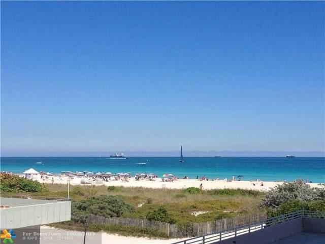 345 Ocean Dr #610, Miami Beach, FL 33139 (MLS #F10198232) :: Patty Accorto Team