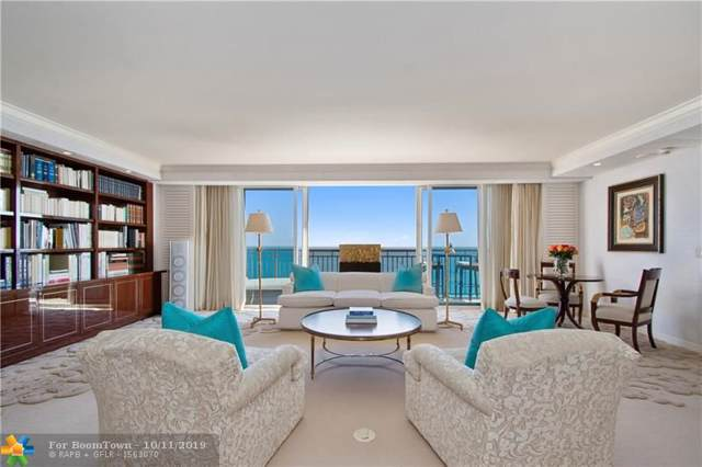 601 N Fort Lauderdale Beach Blvd #1401, Fort Lauderdale, FL 33304 (MLS #F10198682) :: The O'Flaherty Team