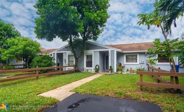 7959 NW 41st Ct #7959, Sunrise, FL 33351 (MLS #F10198942) :: Green Realty Properties