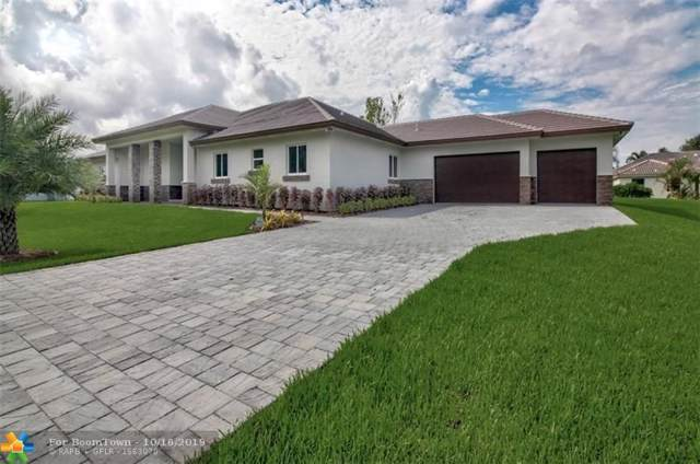 12100 NW 27th St, Plantation, FL 33323 (MLS #F10198971) :: The Howland Group
