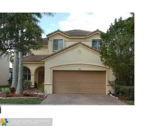 1611 Winterberry Ln, Weston, FL 33327 (MLS #F10199443) :: The Howland Group