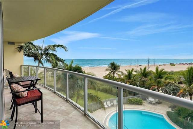 1200 Holiday Drive #203, Fort Lauderdale, FL 33316 (MLS #F10199482) :: The Howland Group