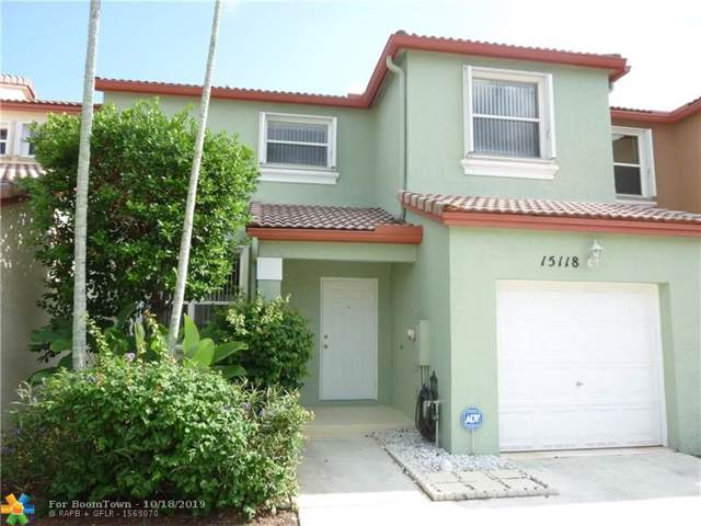 15118 NW 7th Ct #15118, Pembroke Pines, FL 33028 (MLS #F10199679) :: Green Realty Properties