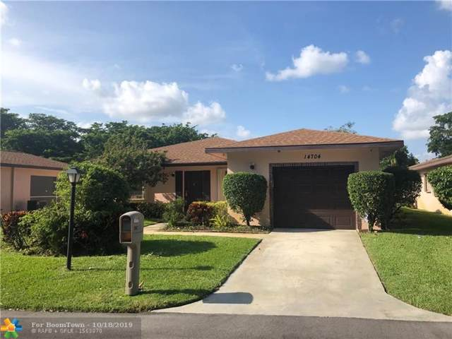 14704 Bonaire Blvd, Delray Beach, FL 33446 (MLS #F10199763) :: The Paiz Group