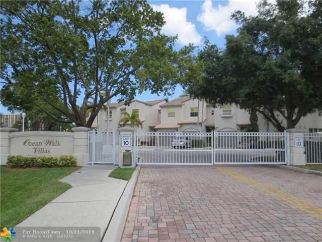1900 Oceanwalk Ln #109, Lauderdale By The Sea, FL 33062 (MLS #F10200064) :: GK Realty Group LLC