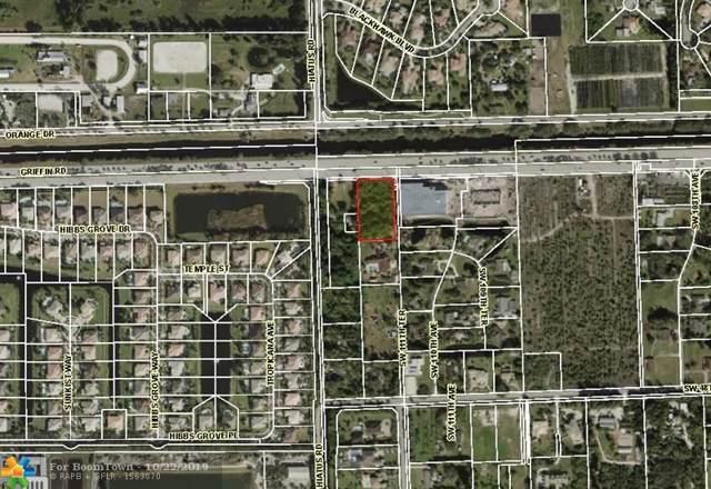 11100 Griffin Rd, Davie, FL 33328 (MLS #F10200362) :: GK Realty Group LLC