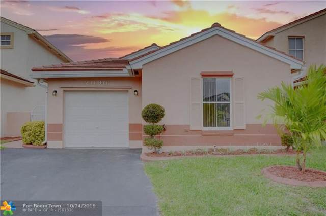 2090 NW 190th Ave, Pembroke Pines, FL 33029 (MLS #F10200442) :: Green Realty Properties