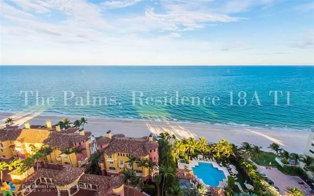 2100 N Ocean Blvd 18A, Fort Lauderdale, FL 33305 (MLS #F10200476) :: The O'Flaherty Team