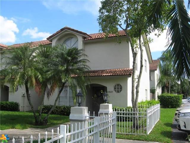 10827 NW 8th St #10827, Pembroke Pines, FL 33026 (MLS #F10201133) :: United Realty Group