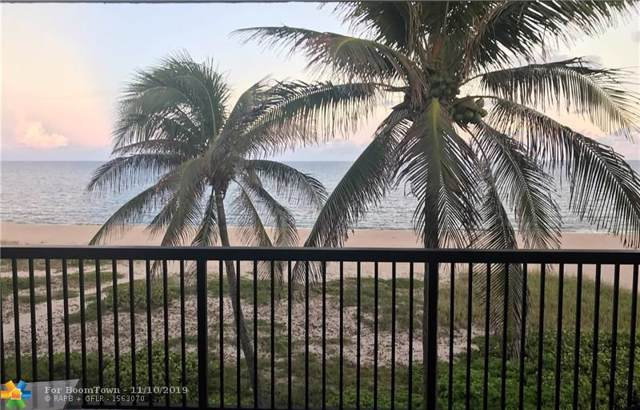 520 N Ocean Blvd #16, Pompano Beach, FL 33062 (MLS #F10202339) :: The Paiz Group