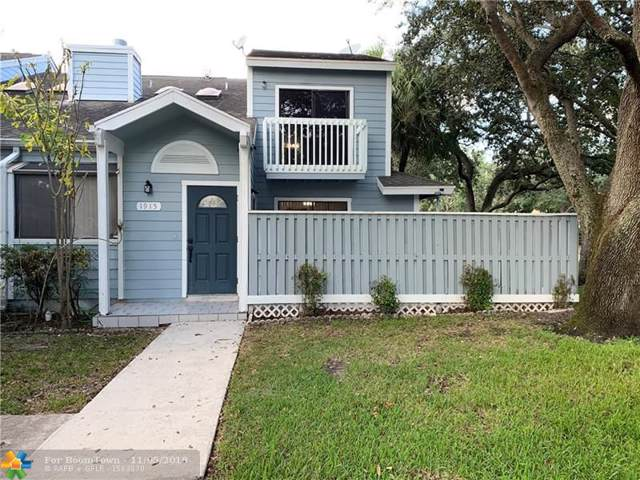 1915 Players Pl #1915, North Lauderdale, FL 33068 (MLS #F10202353) :: RICK BANNON, P.A. with RE/MAX CONSULTANTS REALTY I