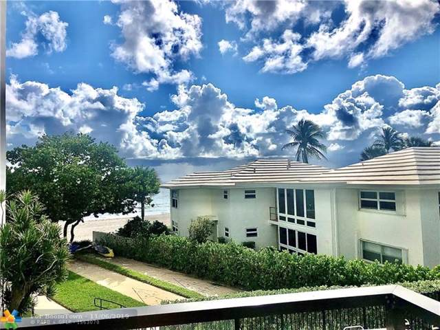 1500 S Ocean Blvd #206, Pompano Beach, FL 33062 (MLS #F10202475) :: GK Realty Group LLC