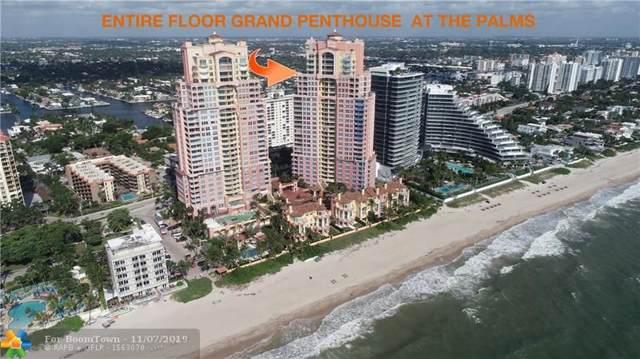 2110 N Ocean Blvd Penthouse Aka 2, Fort Lauderdale, FL 33305 (MLS #F10202645) :: Patty Accorto Team