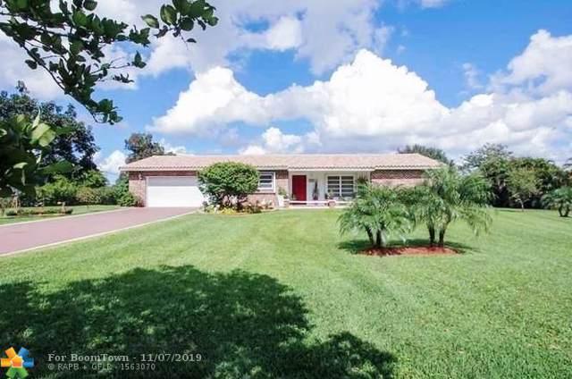 12411 SW 12th St, Davie, FL 33325 (MLS #F10202685) :: Green Realty Properties