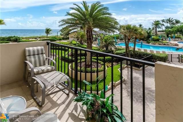 5000 N Ocean Blvd #209, Lauderdale By The Sea, FL 33308 (MLS #F10202733) :: The O'Flaherty Team