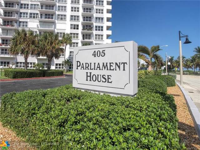 405 N Ocean Blvd #1122, Pompano Beach, FL 33062 (MLS #F10202744) :: The Paiz Group