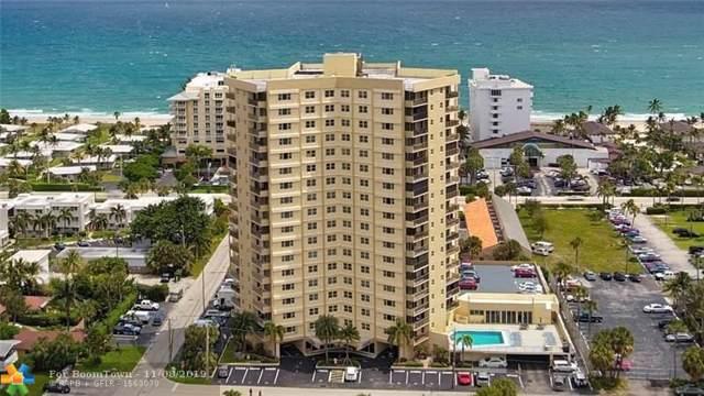 1200 Hibiscus Ave #302, Pompano Beach, FL 33062 (MLS #F10202833) :: The O'Flaherty Team