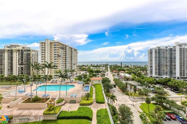 3020 NE 32nd Ave #1025, Fort Lauderdale, FL 33308 (MLS #F10202931) :: Berkshire Hathaway HomeServices EWM Realty